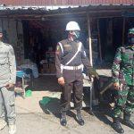 Patroli Tim Posko Gugus Tugas Pencegahan Penularan COVID-19 Kabupaten Cilacap. Selasa 30 Juni 2020